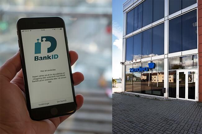 BankID och Nordeakontor