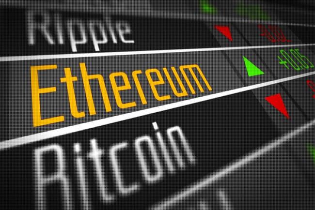 Ethereum och andra kryptovalutor